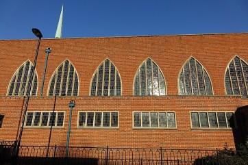 St Agnes Kennington, London. The south side. c.2014. [Source: London Churches in Photographs https://londonchurchbuildings.com