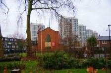 St Agnes Kennington Park, London.. West end.