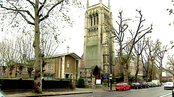 St Mary Newington Church, London (2018). [Source: BBC News https://www.bbc.co.uk/news/uk-35123921]