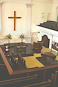 Kensington Chapel, Allen Street, London W8.