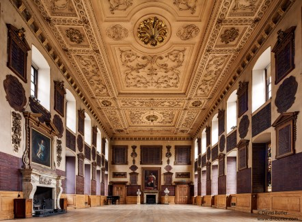 The Great Hall at St Bartholomew's Hospital, Smithfield, c.2000.
