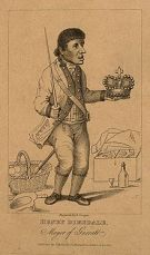 """""""Sir"""" Harry Dimsdale, a muffin seller elected as the final Mayor of Garrat in 1796"""