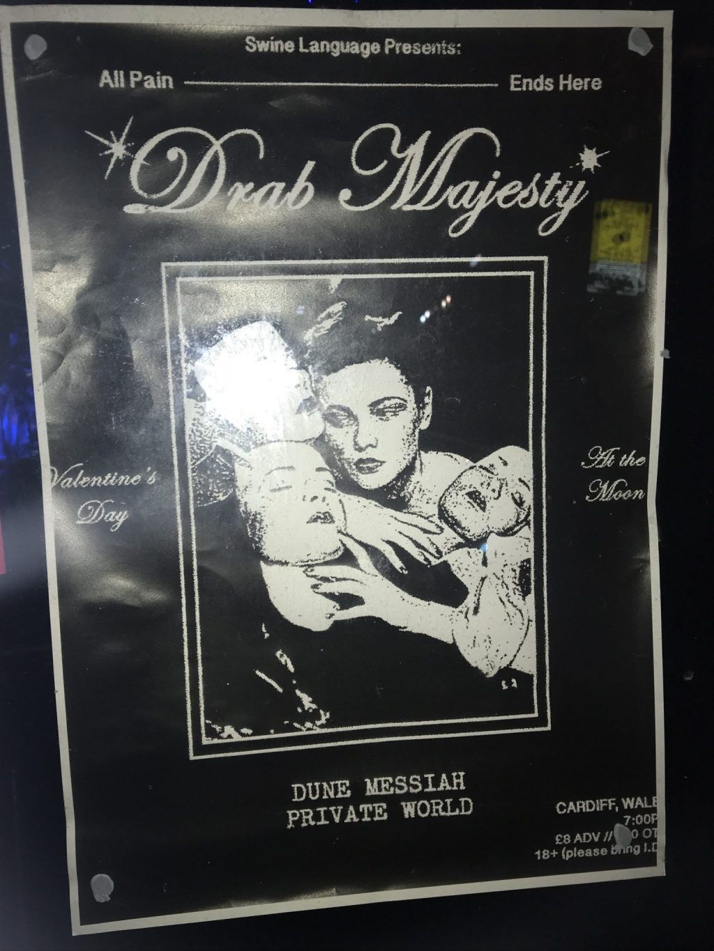 Drab Majesty - The Moon - Cardiff - 14th February 2018