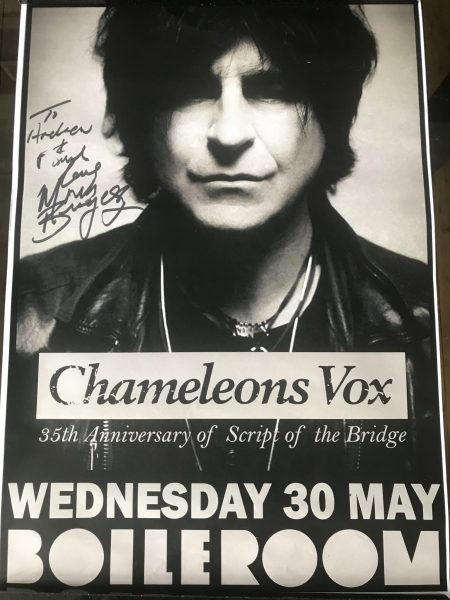 Chameleons Vox - Guildford Boileroom - 30th May 2018