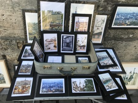 The Wonderful Photography of Rene Tenant Who Sells His Work in the Shadows of the Notre Dame.