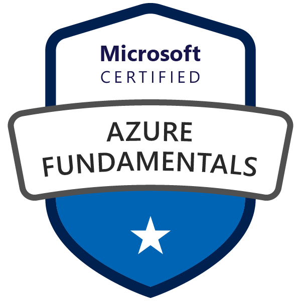 Passed Azure Fundamentals