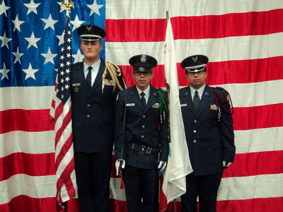 Yucaipa JROTC Color Guard at Eagle Court of Honor  AndrewSamaniegocom