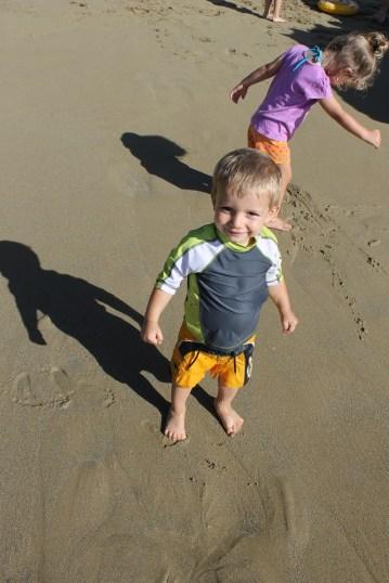 """""""Mommy, I love the beach!"""""""