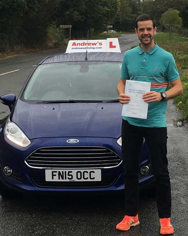 First Time pass in Penmaenmawr  Andrews Driving