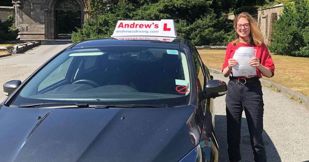 Katies Driving lessons in Llandudno  Andrews Driving