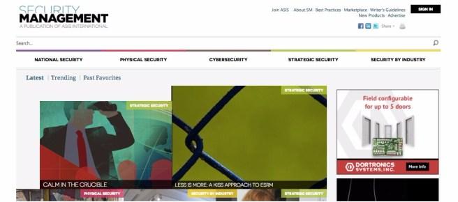 ASIS - KISS ESRM Screen Grab Sept_2017