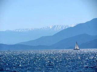 Turkey Sailing Blues of Sea and Mountains