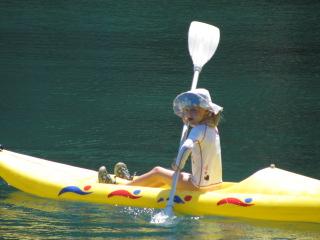 Turkey Sailing Grace in Kayak