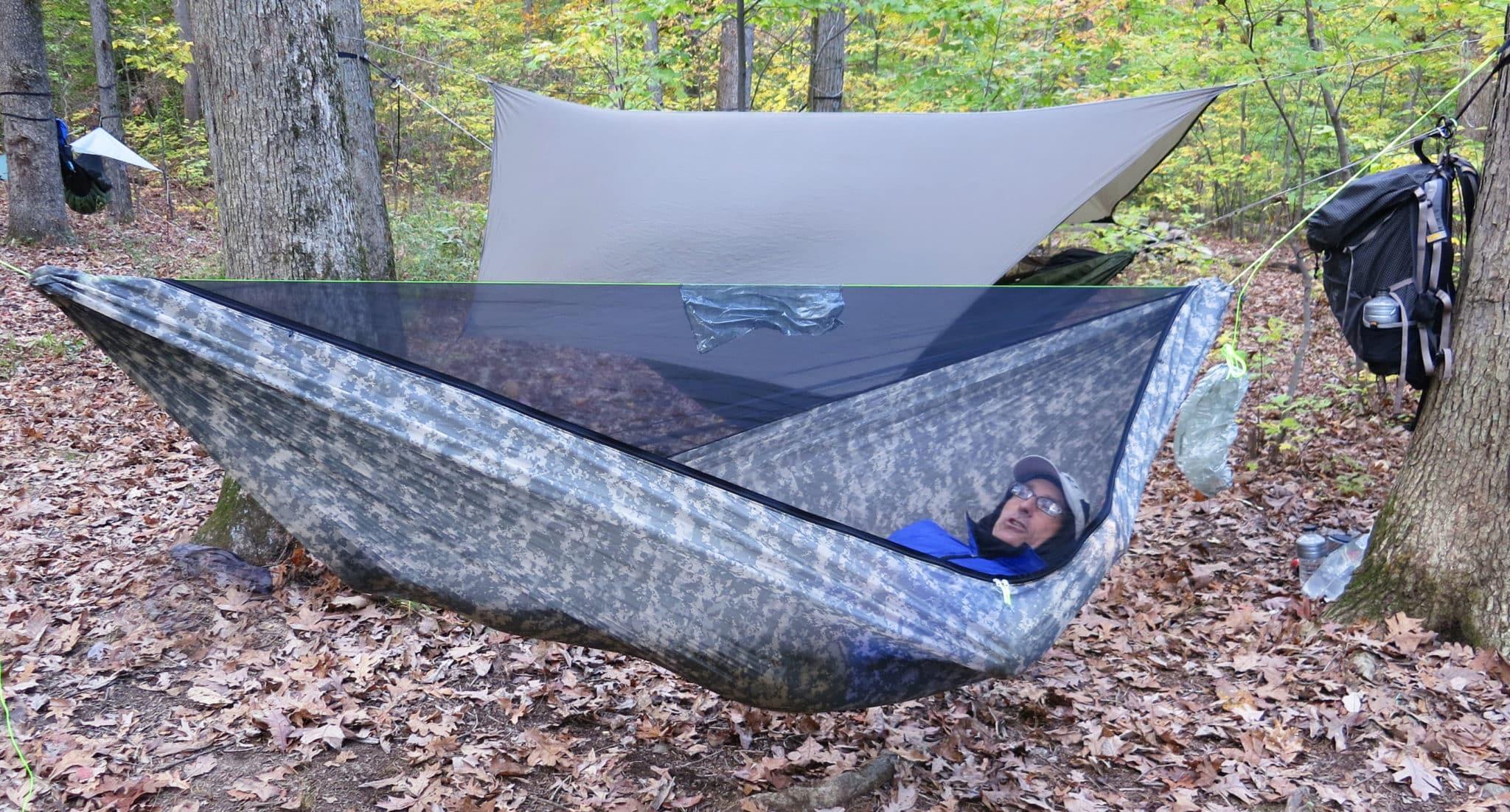Hammock Camping Part I Advantages  disadvantages versus
