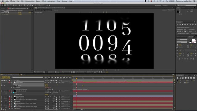 After Effects Analog Counter Template – Andrew Sobey