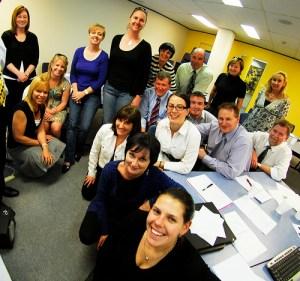 A group of teachers