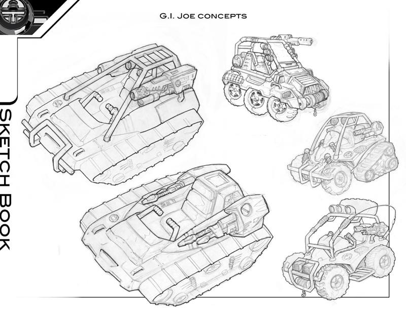 concept art, vehicle concepts & exterior designs portfolio