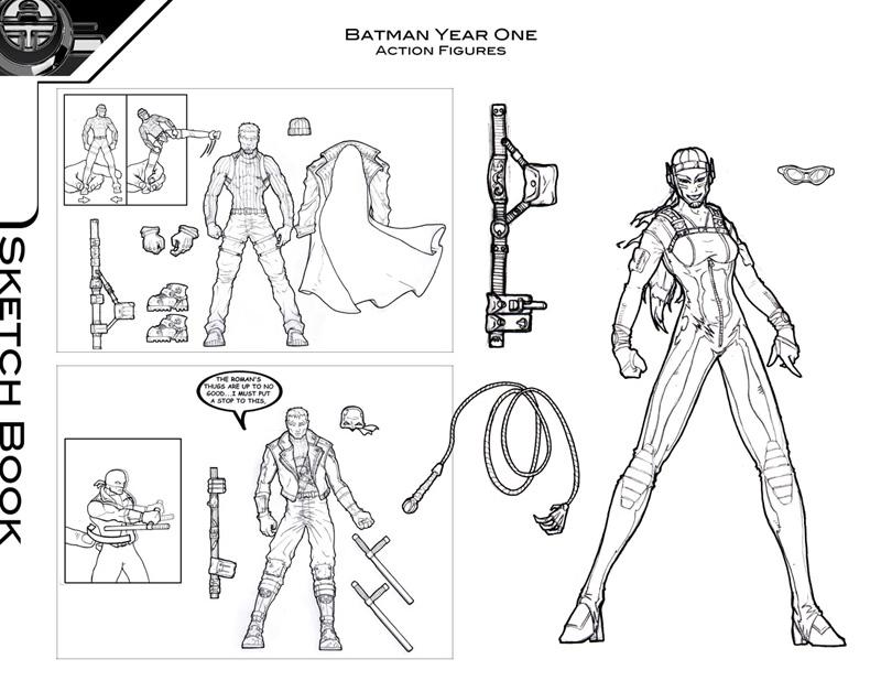 Batman Year One Concepts 2