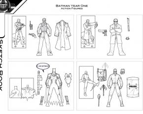 Batman Year One Concepts
