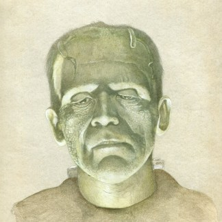 Boris Karloff Creature in Frankenstein