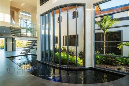 Interior image of waterfront home in Bluewater, Cairns