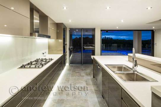 Image of kitchen area in residential home