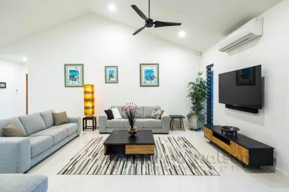 Interior image of architectural residential home in Cairns
