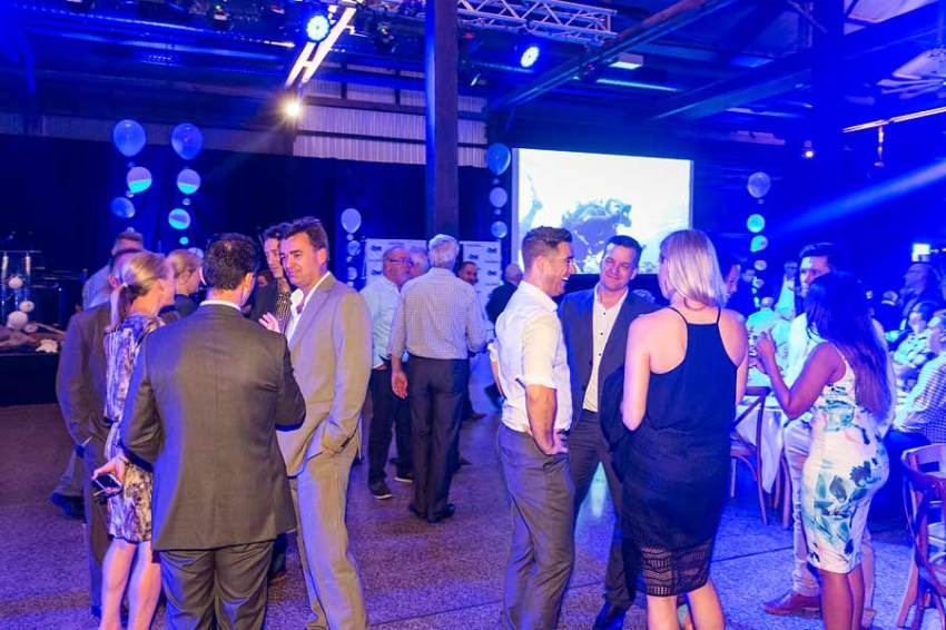 Image of guests at Forty Winks National Conference Gala Dinner