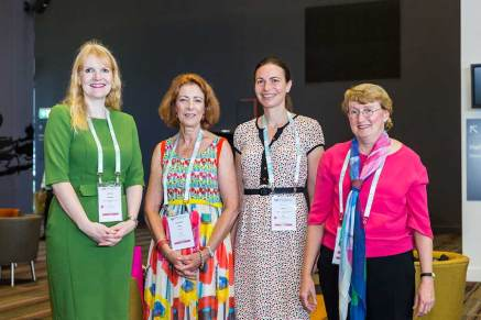 Image of conference speakers attending ANZSGM 2016 in Cairns