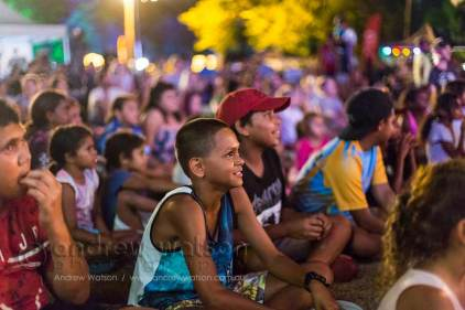 Image of kids enjoying the Yarrabah Band Festival