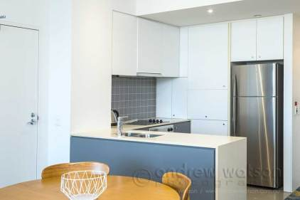 Image of apartment kitchen at Cairns Harbour Lights