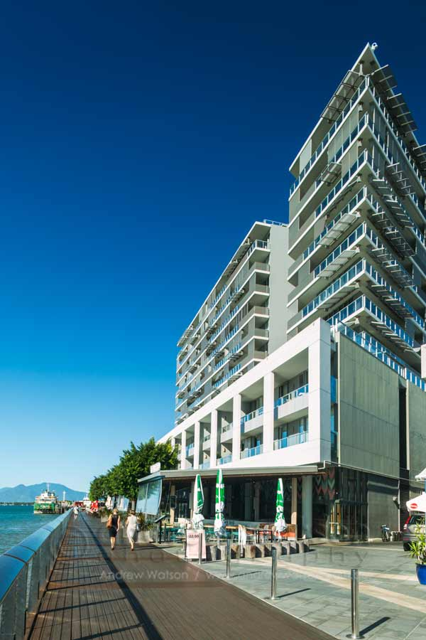 Image of hotel on Cairns waterfront