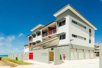 Image of a unit housing development, Torres Strait Islands