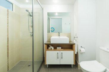 Bathroom interior in Oaks Port Douglas Resort