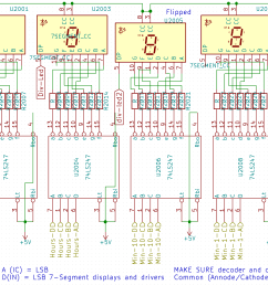 discrete logic clock [ 1656 x 1218 Pixel ]