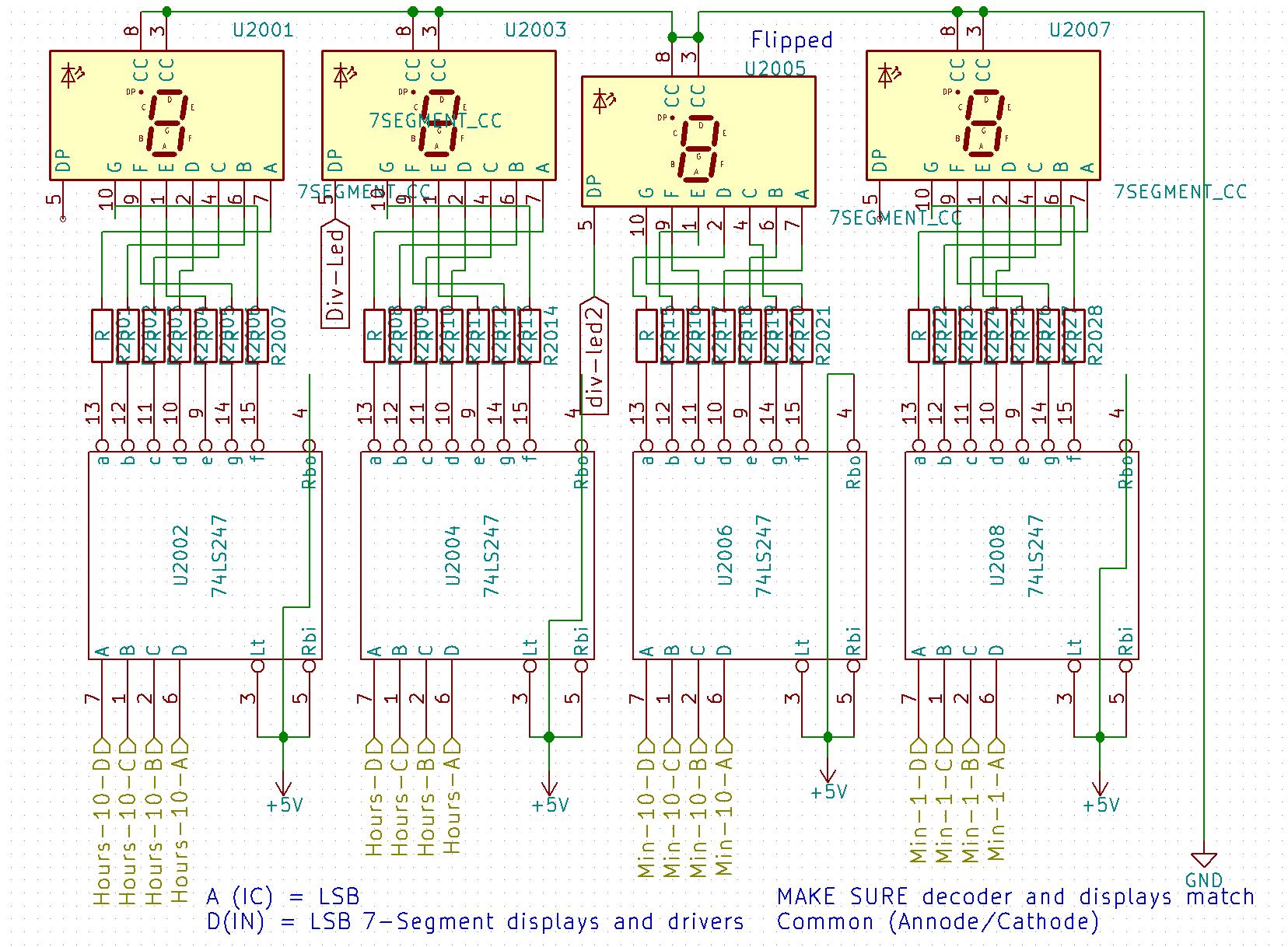 hight resolution of discrete logic clock