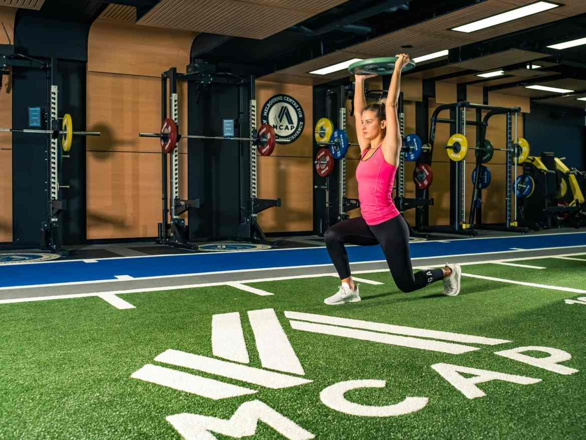 Sports Photography Melbourne Centre Athletic Performance lifting