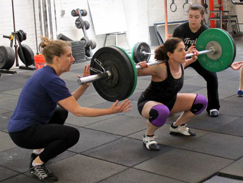crossfit coach returns to
