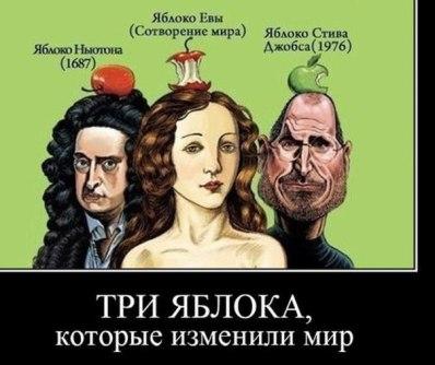Роль яблок
