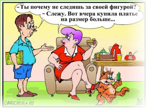 Хозяйка и кот