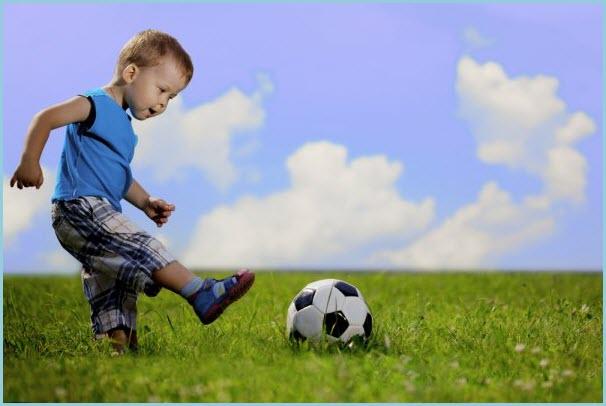 Будущий чемпион по футболу