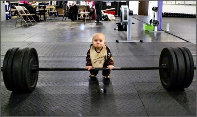 Приучаемся к спорту с пелёнок