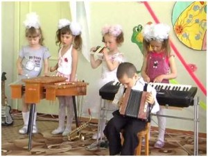 Настоящий музыкальный ансамбль