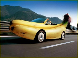 Машина-банан