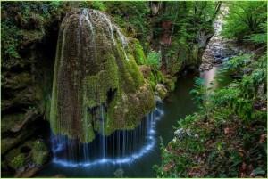 Необычное фото с водопадом
