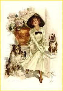 Дама с двумя собаками
