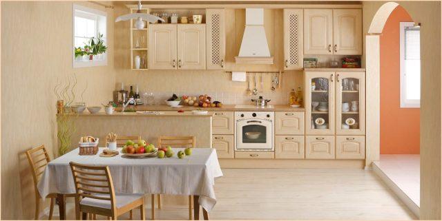 Классическая кухня картинка