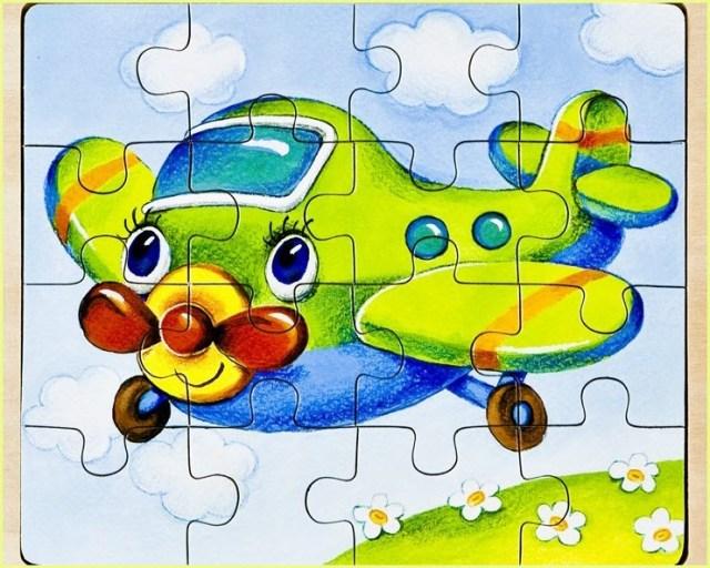 Пазл самолёт