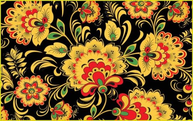 Картинка узоры цветы