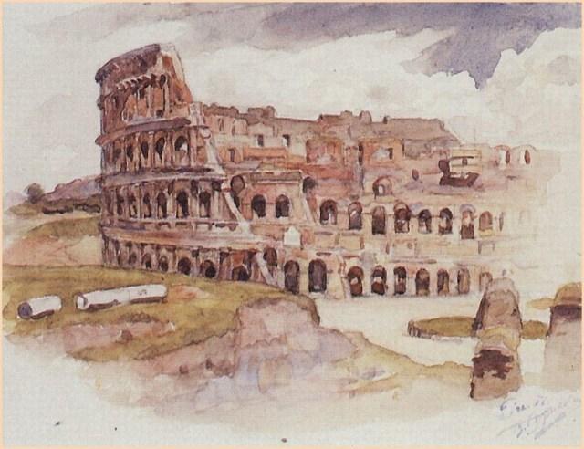 Колизей картина